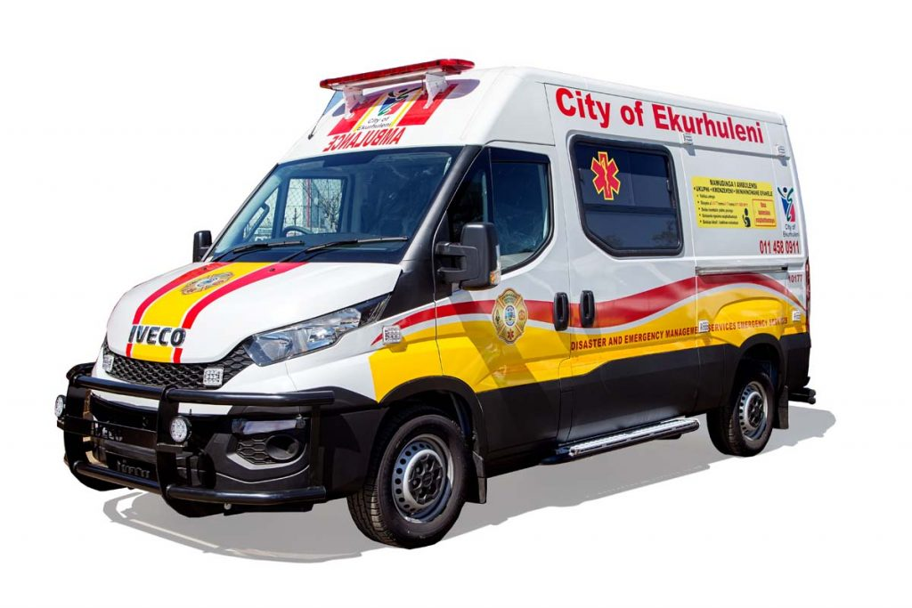 Ambulance conversion and branding