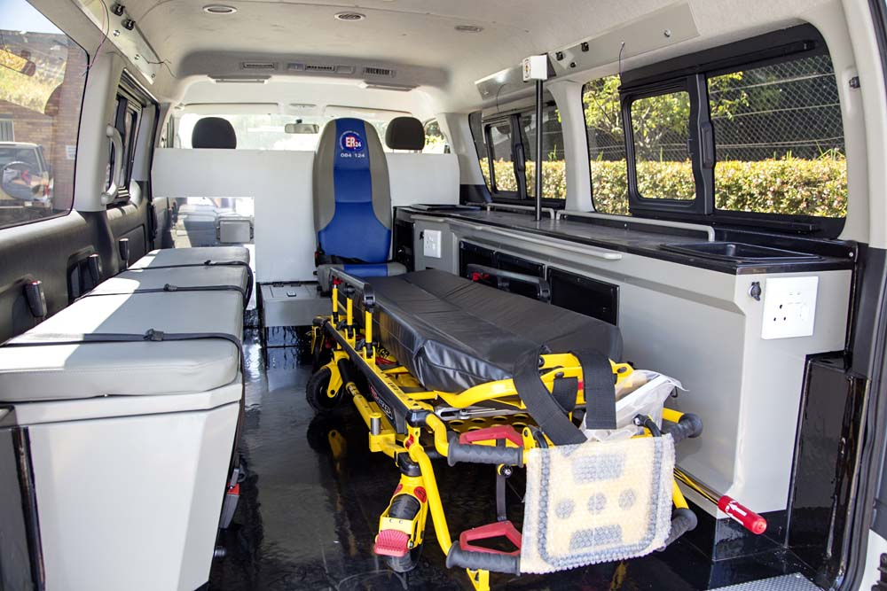 ER 24 Ambulance Interior