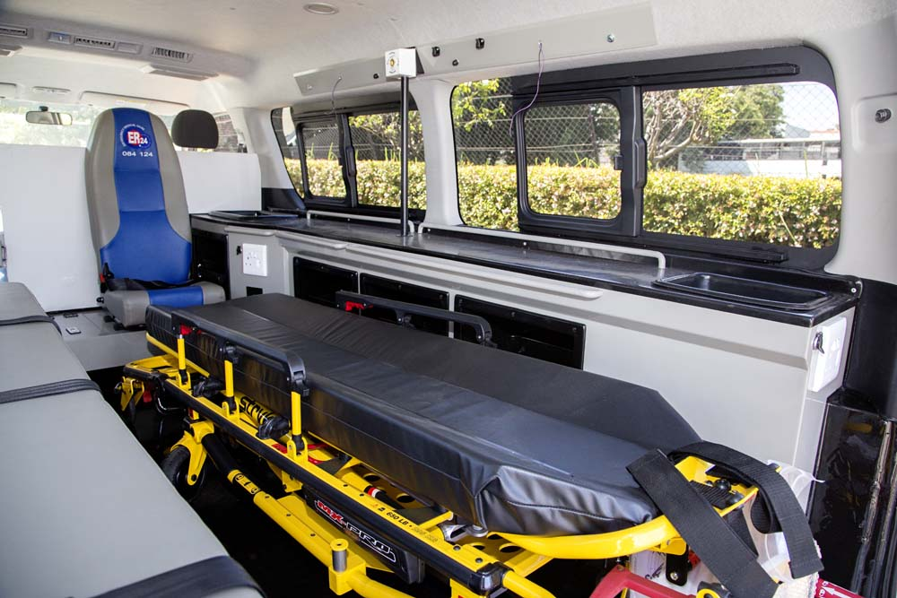 ER 24 Ambulance interior 1