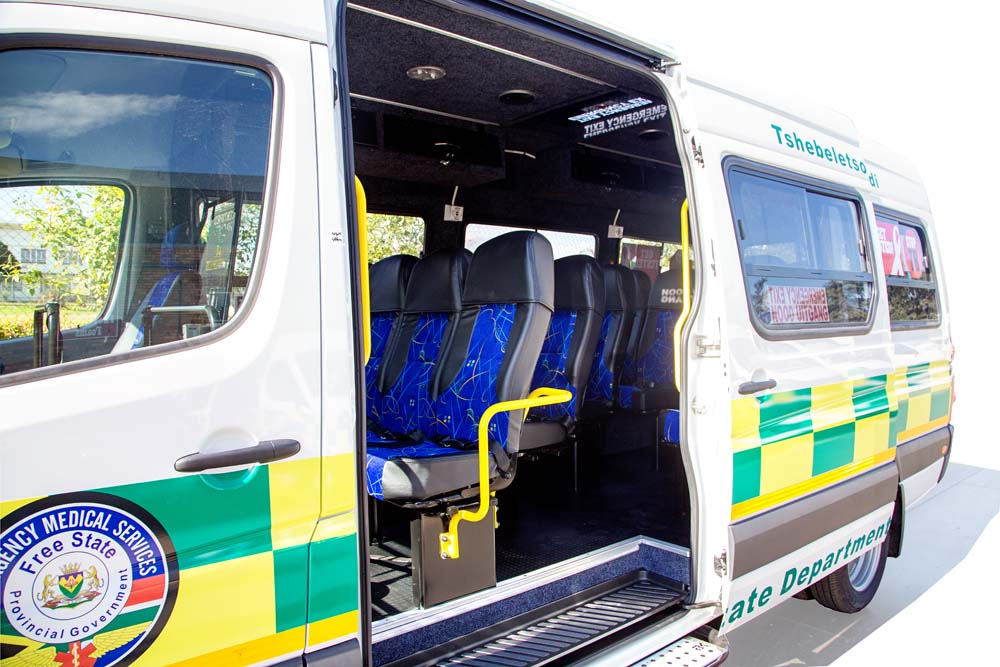 Interior Patient Transporter